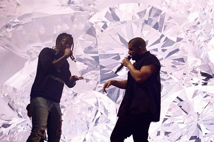 Drake & Future perform on stage