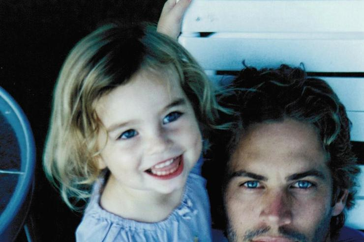 Paul Walker and his daughter Meadow Walker.