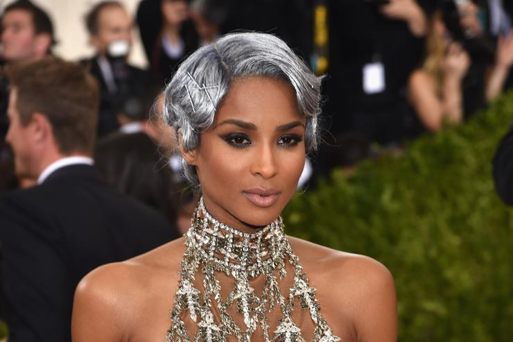 Ciara at Met Gala 2016