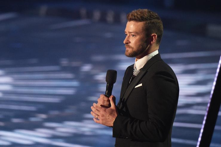 Justin Timberlake at the iHeartRadio Music Awards