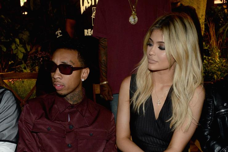 Kylie and Tyga at NYFW