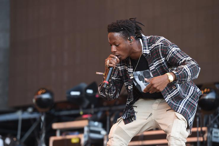 Joey Bada$$ performing at 2016 Coachella