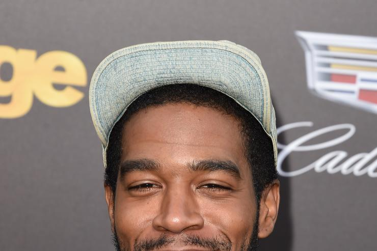Kid Cudi at Entourage movie premiere