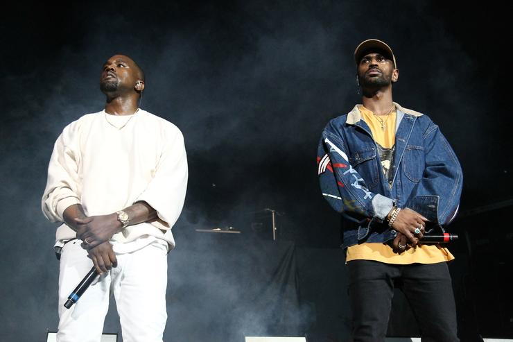 Kanye West and Big Sean at Powerhouse 2016