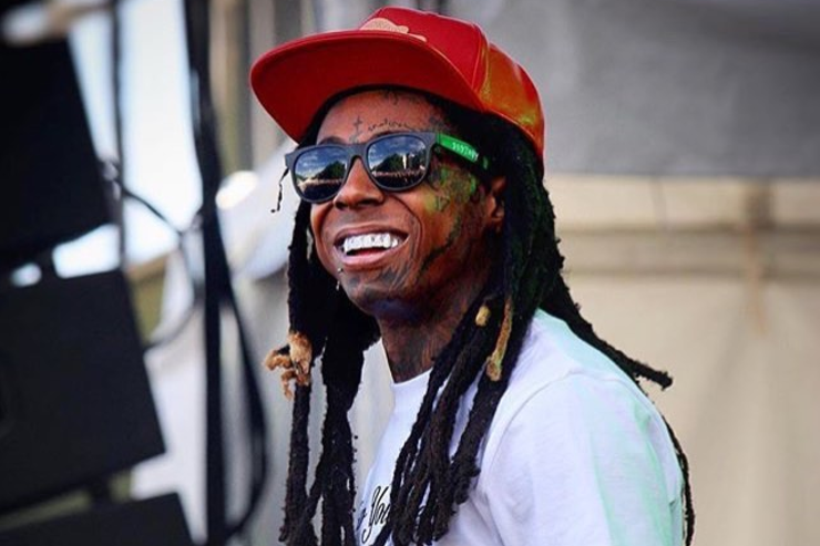 Lil Wayne on stage