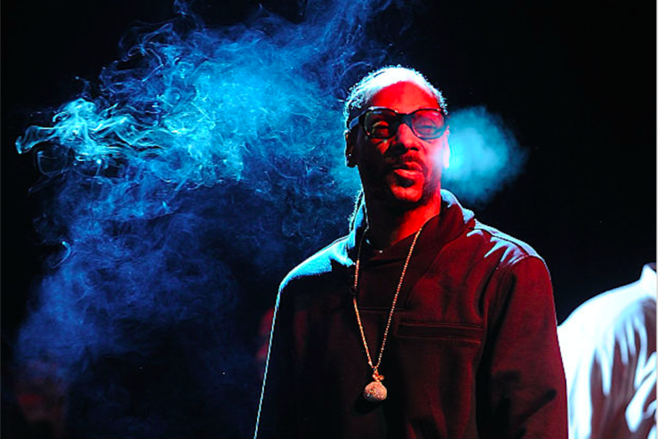 Musician Snoop Dogg performs at the 2nd Annual National Concert Day Show at Irving Plaza on May 3, 2016 in New York City.