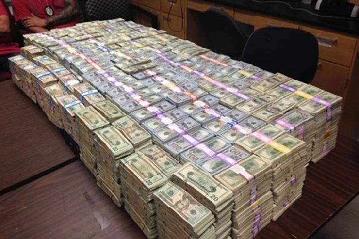 A Record 24 Million In Cash Seized During Raid Of A Miami