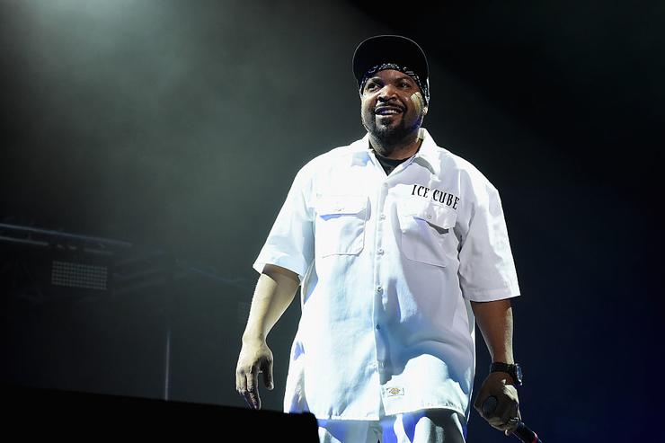 Rapper Ice Cube performs onstage during day 2 of the 2016 Coachella Valley Music & Arts Festival Weekend 1 at the Empire Polo Club on April 16, 2016 in Indio, California.