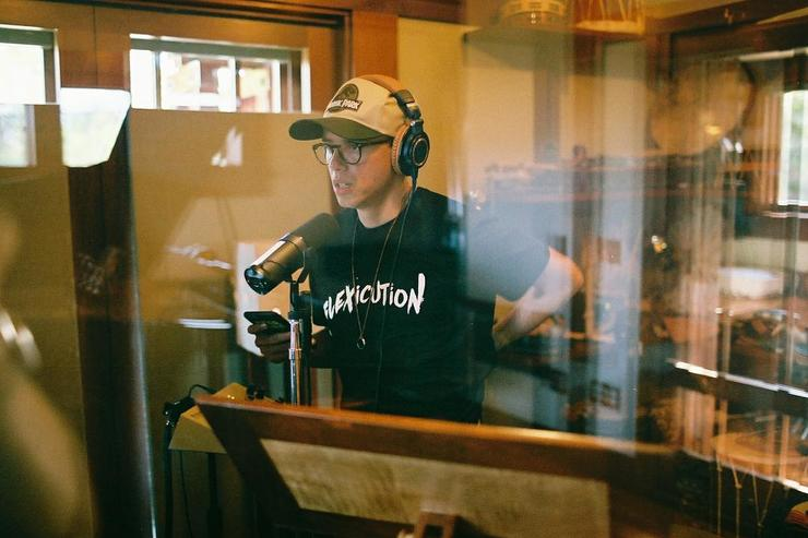 Logic recording in studio