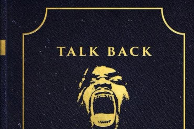 "album cover ""Talk Back"""