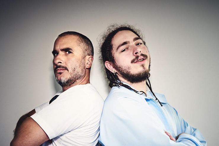 Post Malone and Zane Lowe