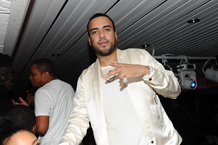 French Montana at MC4 album release party