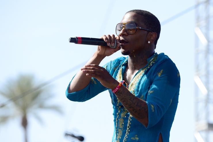Lil B performing at Coachella