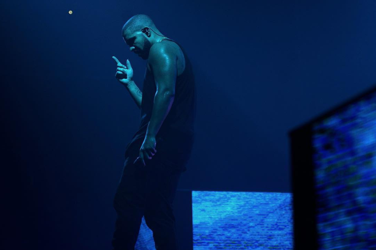 Drake performs in Charlotte, North Carolina.