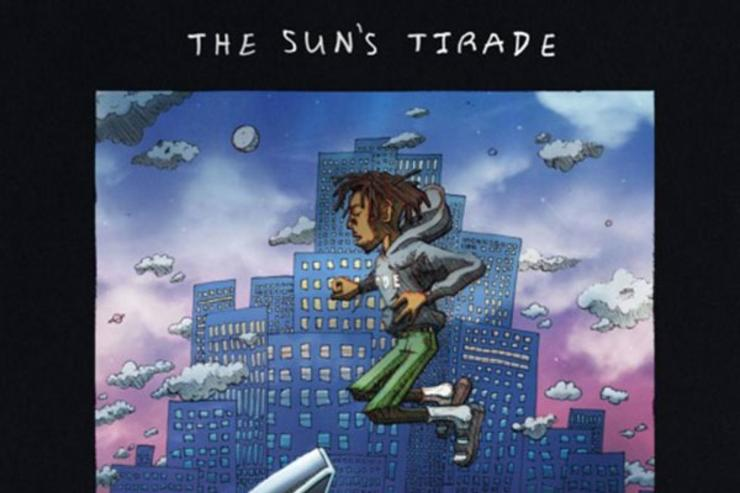 """The sun's Tirade"" album cover"