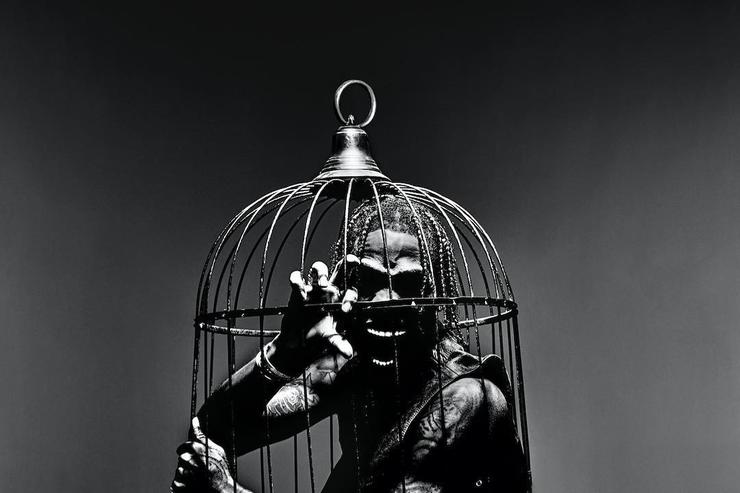 "Travis Scott ""Birds in the Trap Sing McKnight"" promo image"
