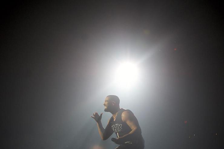 "Drake during ""Summer Sixteen"" tour"