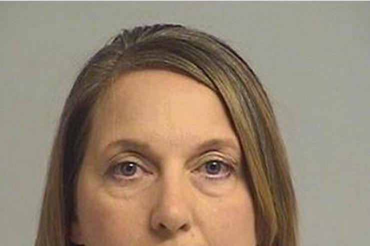 Officer Betty Shelby's mugshot