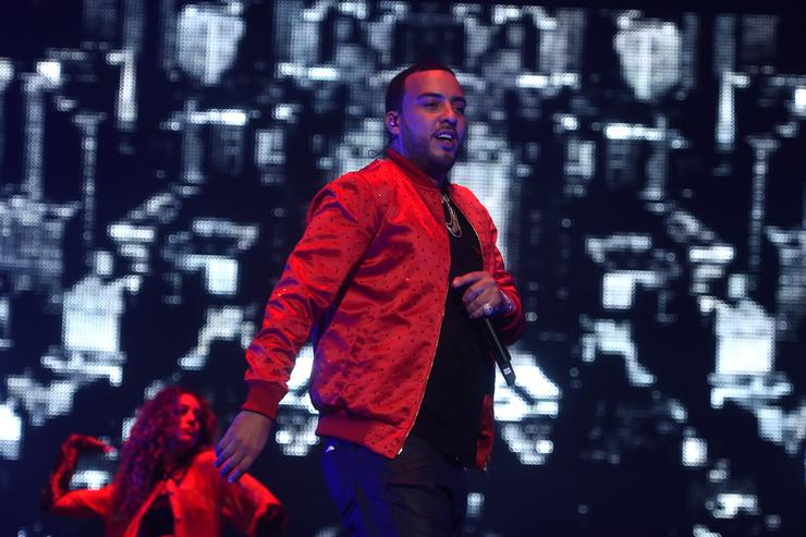 French Montana at Bad Boy Family Reunion Tour At Madison Square Garden