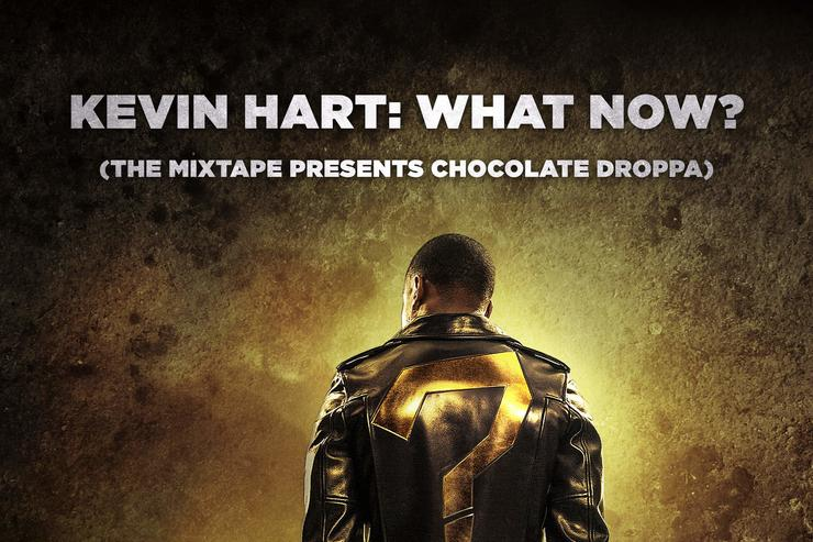 "album cover for Kevin Hart's ""What Now?"" soundtrack"