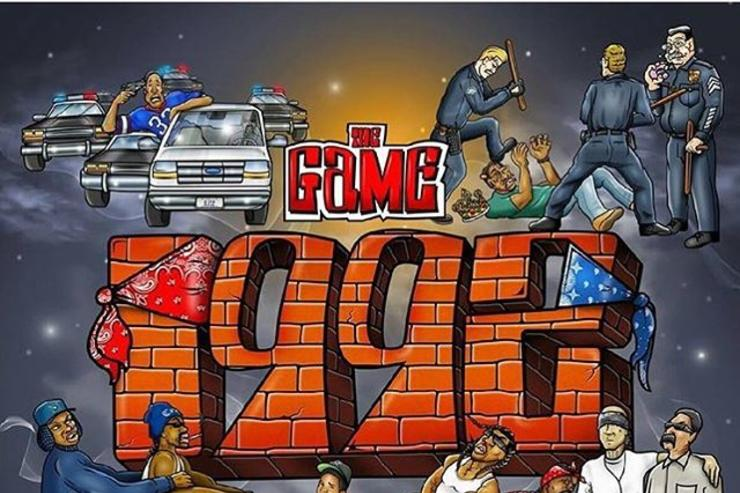 "The Game's album cover for ""1992"""