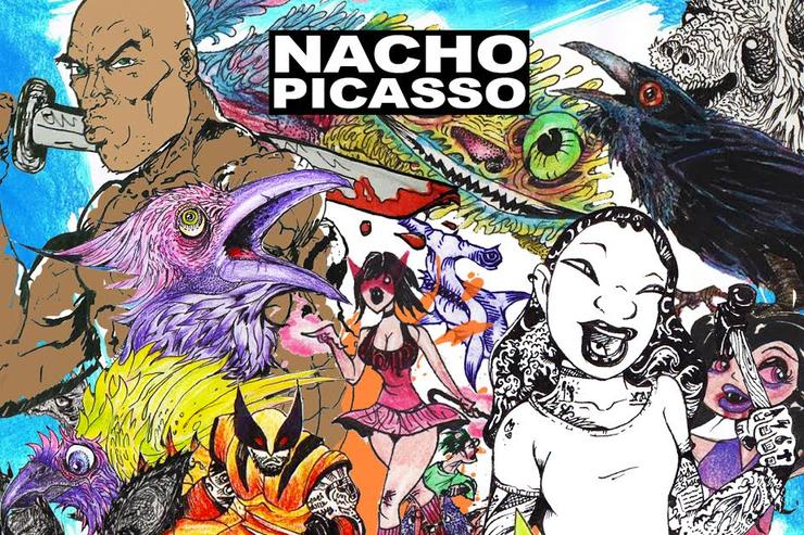 album cover for Nacho Picasso's Antihero Vol. 1""