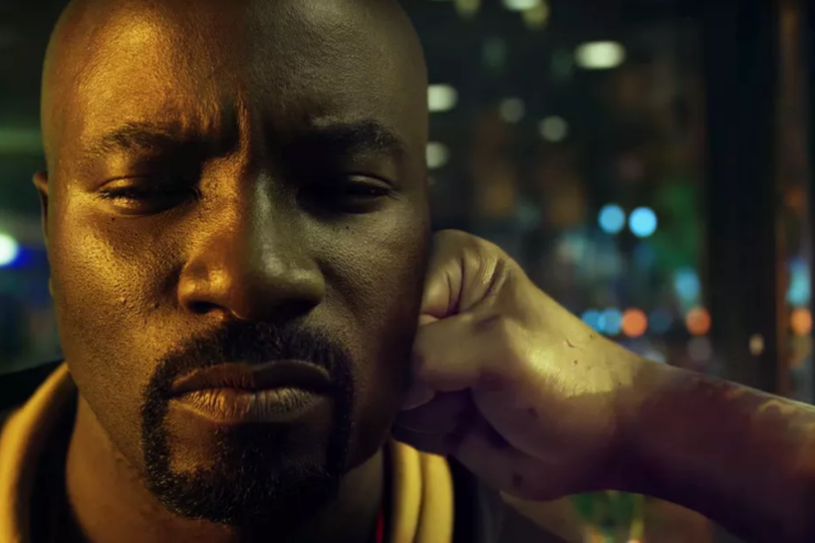A scene from Luke Cage.