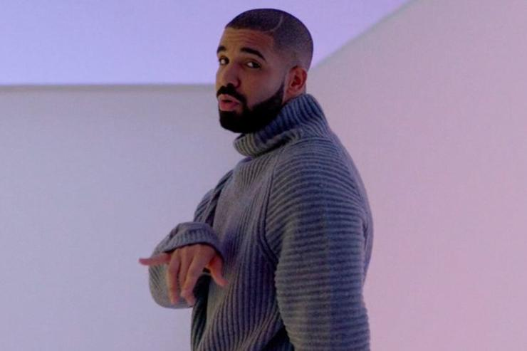 "Drake's ""Hotline Bling"" video."