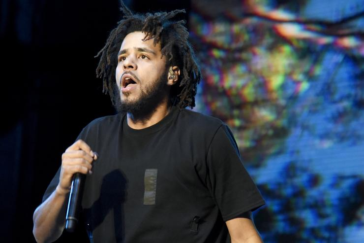 J. Cole at 2016 Life Is Beautiful Festival