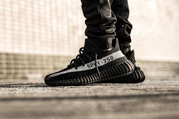 Adidas Yeezy Boost 350 V2 black and green