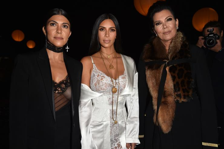 Kim Kardashian, Kourtney and Kris