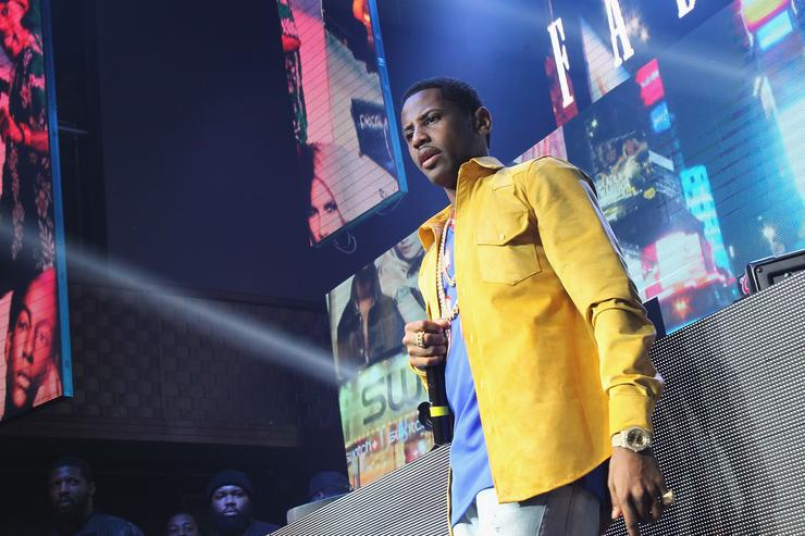 Fabolous at Coors Light event