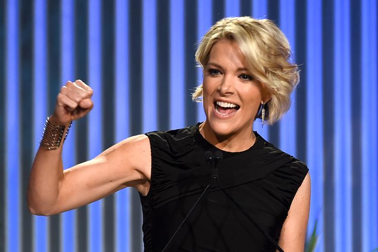 Honoree Megyn Kelly speaks onstage during The Hollywood Reporter's Annual Women in Entertainment Breakfast in Los Angeles at Milk Studios on December 7, 2016 in Hollywood, California.