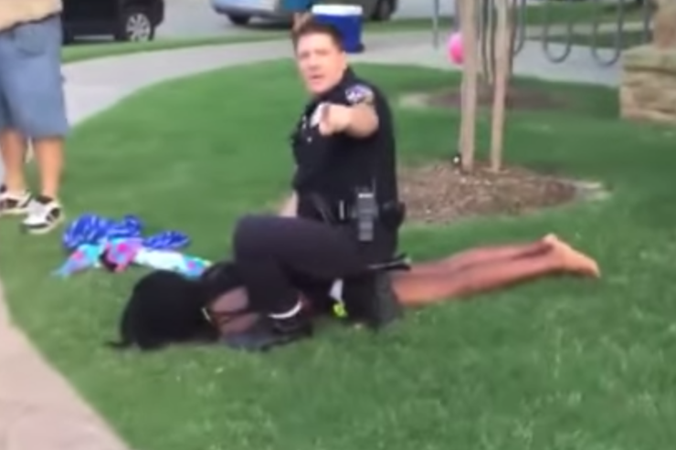 Screenshot from the 2015 pool party incident.