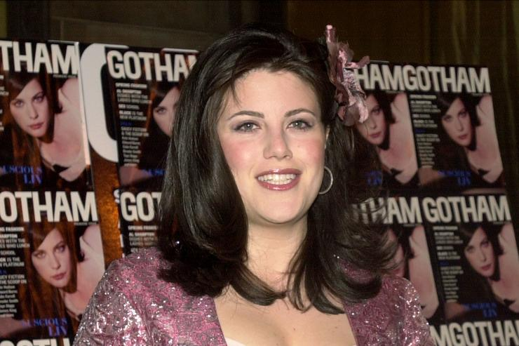 Monica Lewinsky attends the launch party for Gotham Magazine March 1, 2001 in New York City