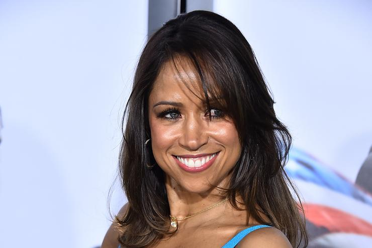 Stacey Dash arrives at the 'American Sniper' New York Premiere at Frederick P. Rose Hall, Jazz at Lincoln Center on December 15, 2014 in New York City