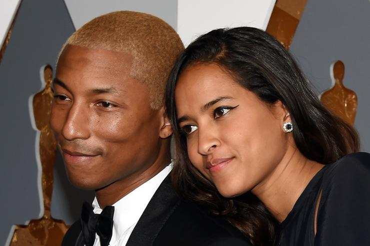 Pharrell Williams and Helen Lasichanh welcome 'happy and healthy' triplets
