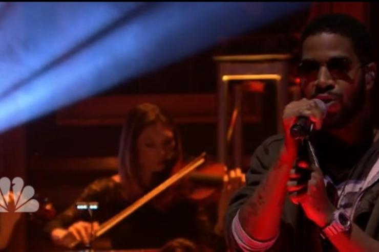 Kid Cudi on Fallon