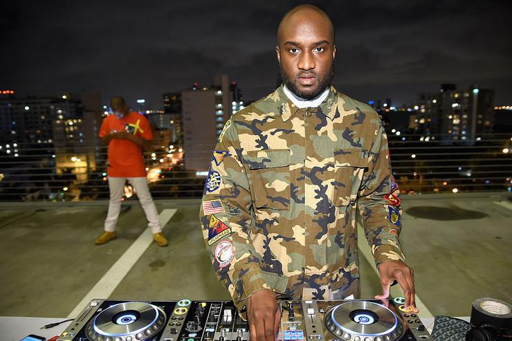 DJ Virgil Abloh attends Paper Magazine, Sprout By HP & DKNY Break The Internet Issue Release at 1111 Lincoln Road on December 4, 2014 in Miami, Florida.