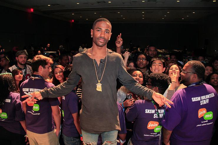 Big Sean and Elliott Wilson panel discussion during SXSW 2015 on March 18, 2015