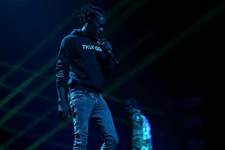 Young Thug on stage