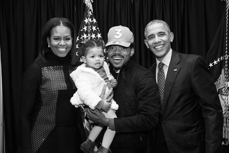Chance The Rapper & The Obamas