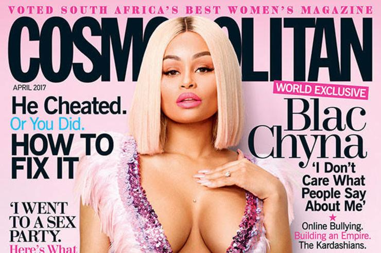 Blac Chyna for Cosmo