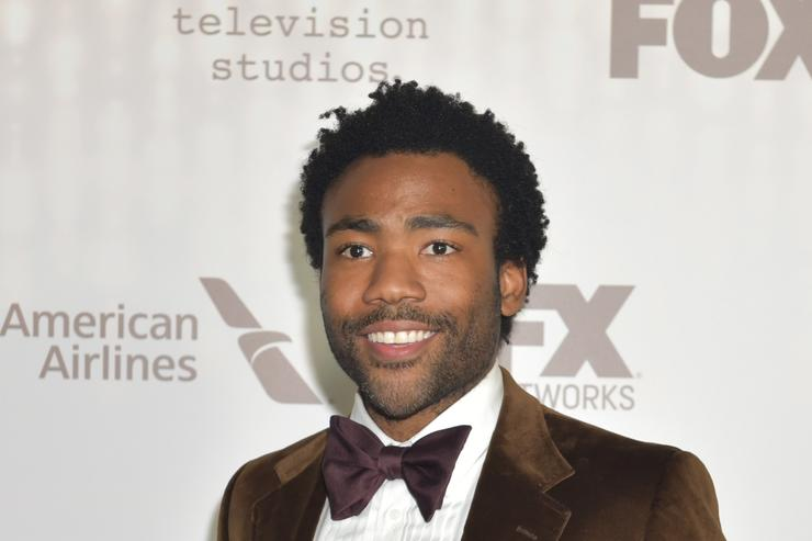 Donald Glover FOX And FX's 2017 Golden Globe Awards After Party - Arrivals