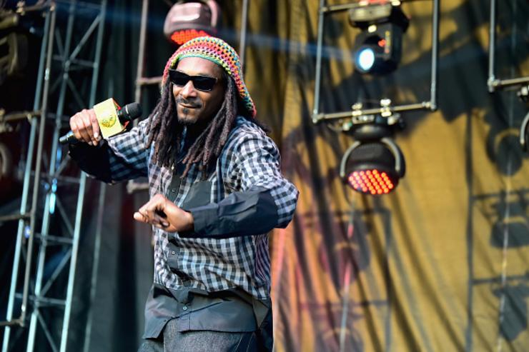 Snoop at Firefly Music Festival