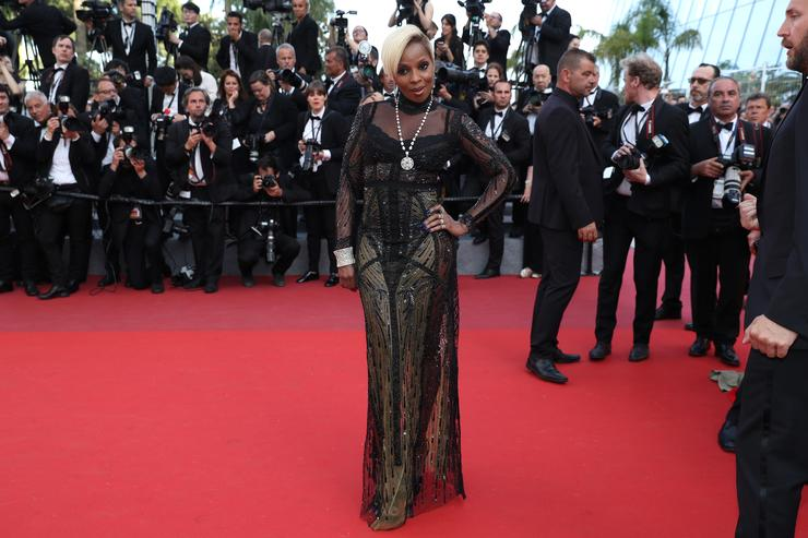 Mary J Blige 70th Cannes FIlm Fest