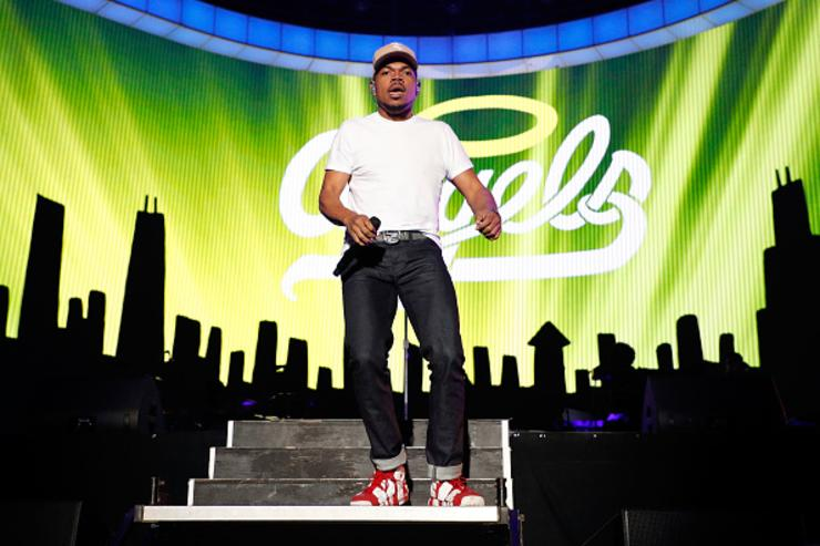 Chance performing at the Governor's Ball.