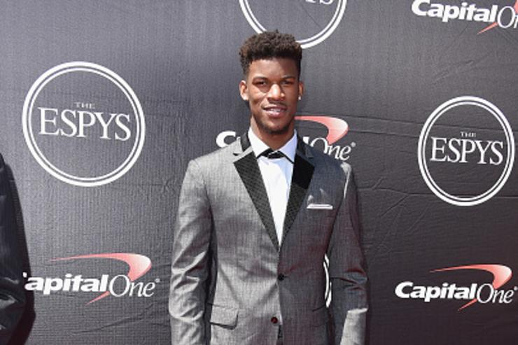 Jimmy Butler at ESPY'S