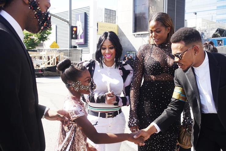 Future and his daughter at the BET Awards