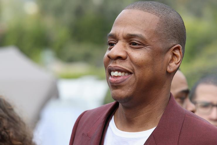 Jay-Z at Roc Nation brunch